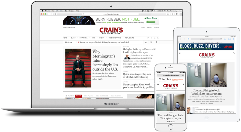Crain Communications case study image